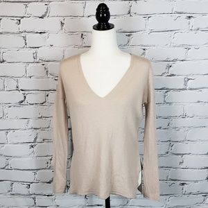 Babaton Cream Wool-blend Longsleeve Sweater